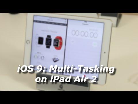 IOS 9: Split Screen Multi-Tasking On IPad Air 2