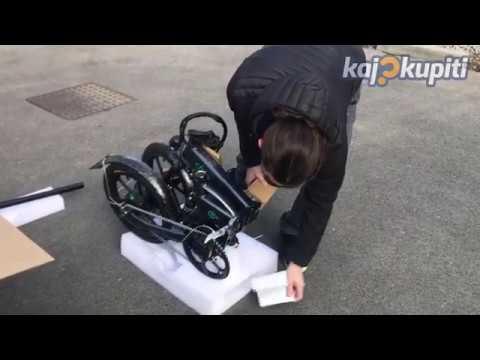 Fiido D2 electric bike - unboxing