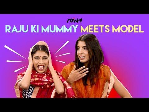 iDIVA - Raju Ki Mummy Meets Model Arshia Ahuja   Raju Ki Mummy Part 2