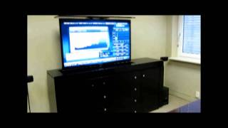 Modern Buffet Tv Lift Cabinet In Home At Wadsworth, Oh