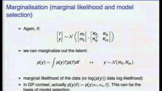 MLSS 2012: J. Cunningham - Gaussian Processes for Machine Learning (Part 1)