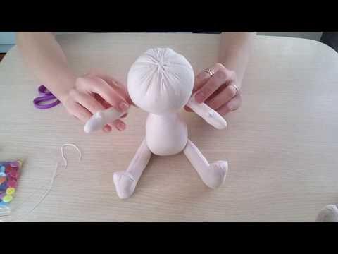 Кукла из ткани своими руками ткани выкройки для начинающих