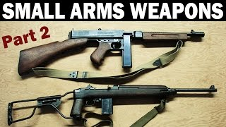 How WW2 Small Arms Weapons Work | PART 2 of 3 | US Army Training Film | 1945
