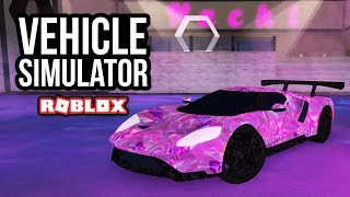 NEW RARE FORD GT - Roblox Vehicle Simulator #26