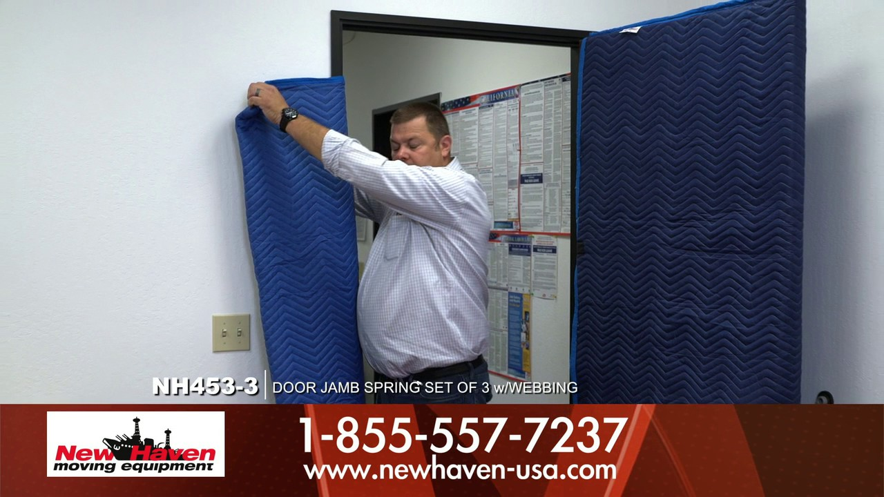 How to use the Door Jamb Protector to protect your door jamb and ...