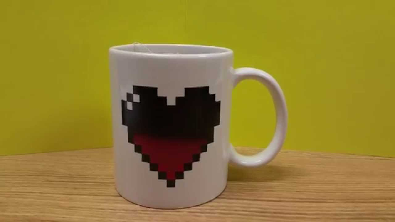Check it Out Heat Activated Coffee Mug Shut up and take my money