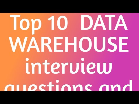 Top 10 Data Warehouse Interview Questions And Answers