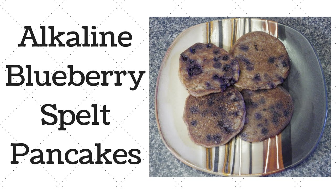 Blueberry Spelt Pancakes Dr Sebi Alkaline Electric Recipe