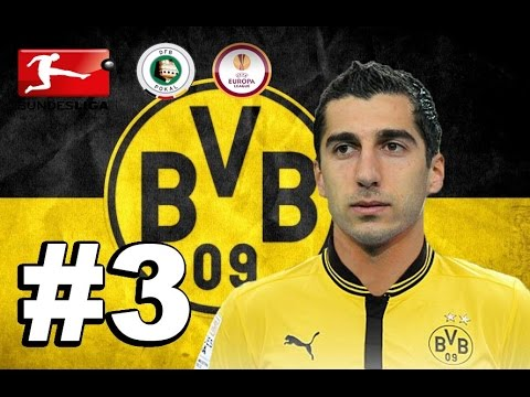 Henrikh Mkhitaryan #3 (Stream) - Borussia Dortmund - PES 2016 - Armenian/Հայերեն