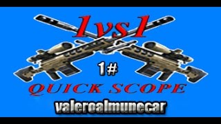 1#Vs Er Pak0 rExuL0n |Quick Scope 1vs1 |valeroalmunecar