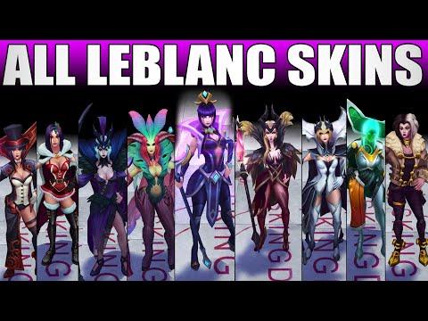 All LeBlanc Skins Spotlight 2020 - Including Championship LeBlanc