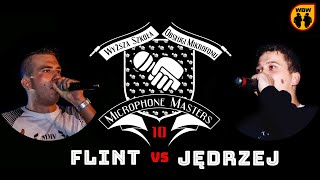 FLINT vs JĘDRZEJ @ Microphone Masters 10 @ freestyle battle