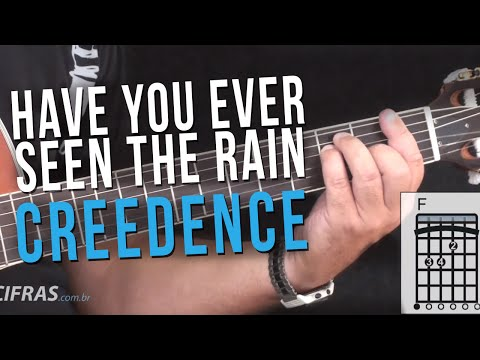 Creedence - Have You Ever Seen The Rain (como Tocar - Aula De Violão)