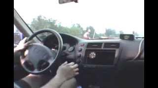 all motor honda civic 10.99 sec run in car video