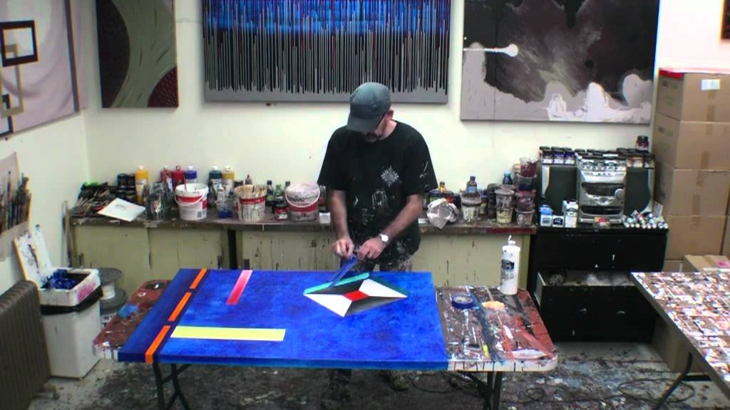 Learn how to paint large abstract artworks art lessons for How to learn to paint