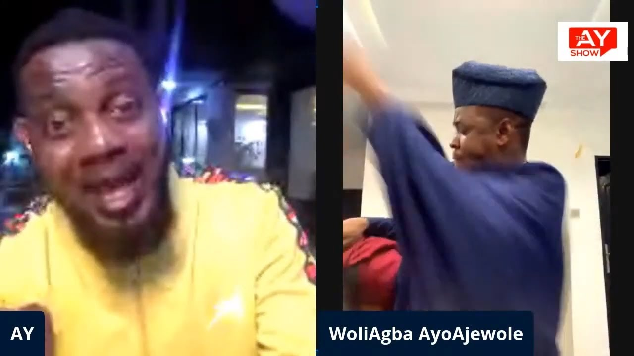 WOLIAGBA BEATS HIS HYPEMAN ON THE AYSHOW