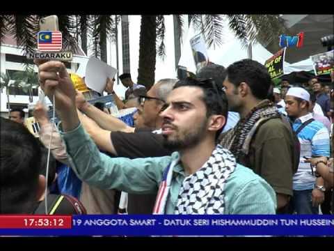 KEMPEN SELAMATKAN AL-QUDS , SELAMATKAN PALESTINE DARI KEKEJAMAN ISRAEL [21 JULAI 2017]