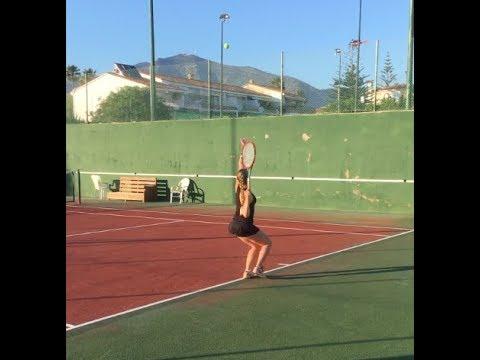 Veronica Rydstrom College Tennis Recruiting Video 2018
