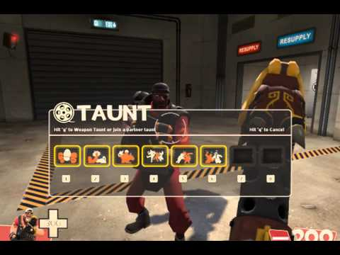 TF2: Square Dance Taunt(all Class)