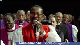 Our COGIC Presiding Bishop Charles Edward Blake Official Sunday 109th Holy Convocation!