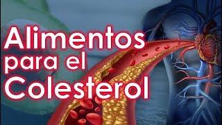 Los Mejores Alimentos para Bajar el Colesterol Alto y Triglicéridos | SALUDABLEMENTE TV