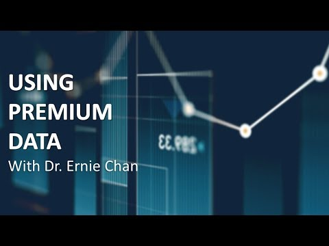 Algo Trading | Using Premium Order Flow Data with Dr. Ernie
