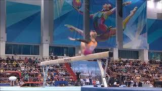 GOLD: Angelina Melnikova BB EF Russian Championships D-Score