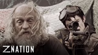 "Z NATION (clips) | Go Forward from ""Zombie Road"" | Syfy"