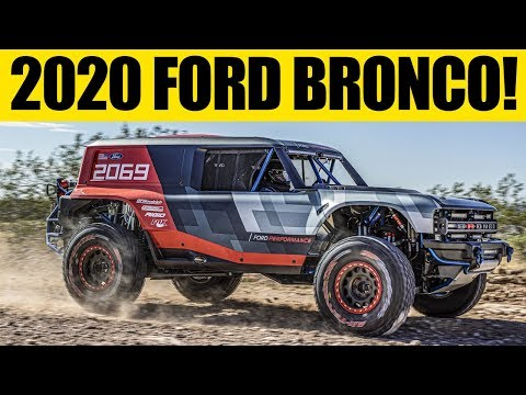 2020 Ford Bronco - FIRST LOOK! - BAJA 1000 Here We Come!