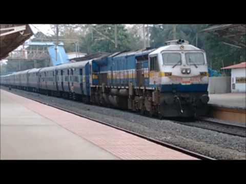 Railway announcement malayalam