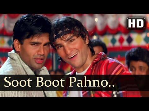 Suit Boot Pahno Ya Kurta - Saif Ali Khan - Sonali Bendre - Hum Se Badkar Kaun - Bollywood Songs