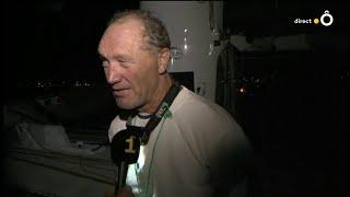 Route du Rhum : Les premiers mots de Francis Joyon vainqueur de la Route du Rhum