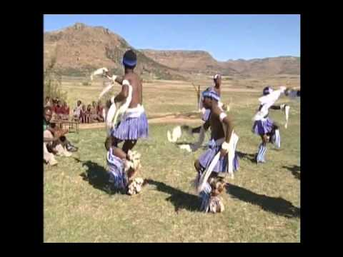 Traditional Lesotho Boys Dancing & Singing
