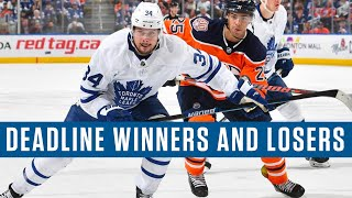 NHL Trade Deadline Winners And Losers Letter Grades For Each Canadian Team's Decisions