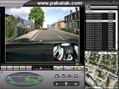 Driving Surveillance System In Car Camera Surveillance System