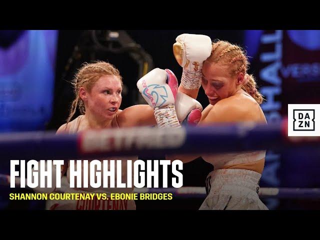 HIGHLIGHTS | Shannon Courtenay vs. Ebonie Bridges