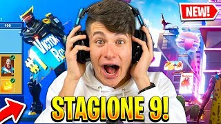 """NEW MAP and the NEW BATTLE PASS!! FORTNITE REACTION """"The Future is ARRIVATO"""" 😱"""