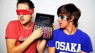 Blindfolded Makeup Challenge with Joey Graceffa!