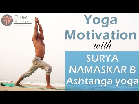 Surya Namaskar Or Sun Salutation Variation B Of Ashtanga Yoga