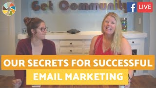 Our Secrets For Successful Email Marketing