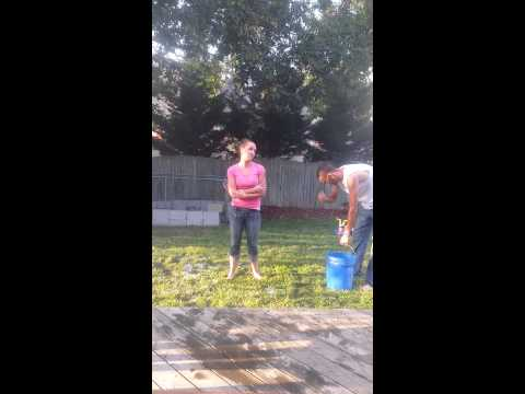 Ice bucket challenge Amy dawson