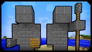 ✔ Minecraft: How to make a Statue (Improved Version)