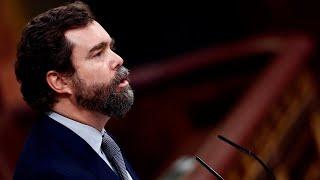 Espinosa de los Monteros se emociona al mostrar su agradecimiento a Santiago Abascal