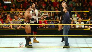 WWE NXT - Darren Young and JTG confront William Regal and Matt Striker