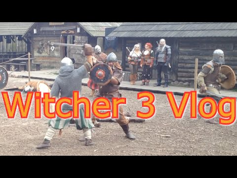 Swede vlog S03 E05 Poland and The Witcher 3 Wild Hunt