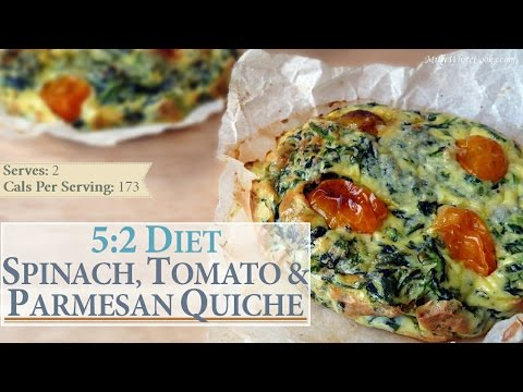 spinach,-tomato-&-parmesan-quiche-recipe-|-5:2-diet-weight-loss-|-easy-healthy-low-calorie-lunch