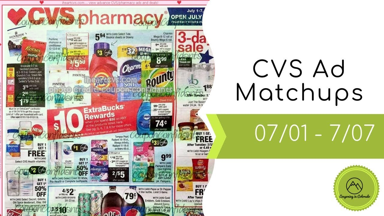 cvs ad matchups 07 01 07 07 ignore the maybelline deals as eye