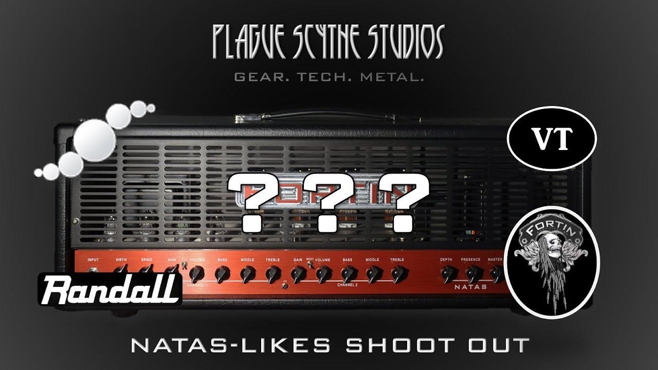Fortin NATAS Imitators Blind Shootout - Pedal, Plugin, or Real Amp?