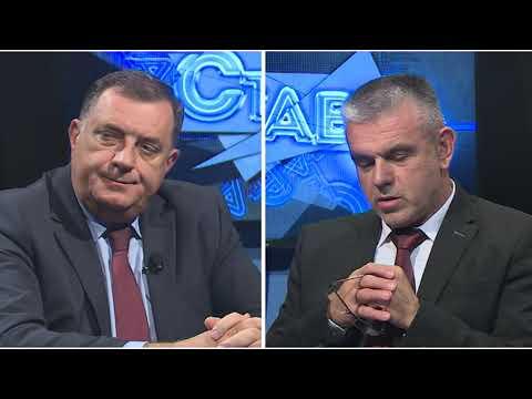 STAV TV K3-specijal : gost Milorad Dodik  4.10.2018.