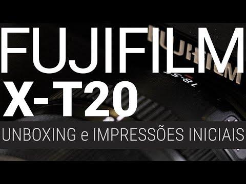 Unboxing e Primeiras Impressões da Fujifilm X-T20
